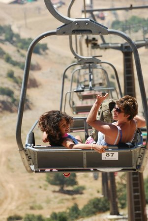 Mount Hermon : cable car