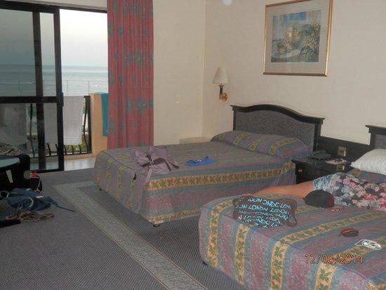 Hotel Fortina: les lits