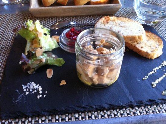 la terrasse gourmande : Fois gras