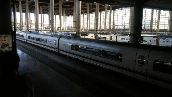 Estación de Atocha: Trenes en Atocha