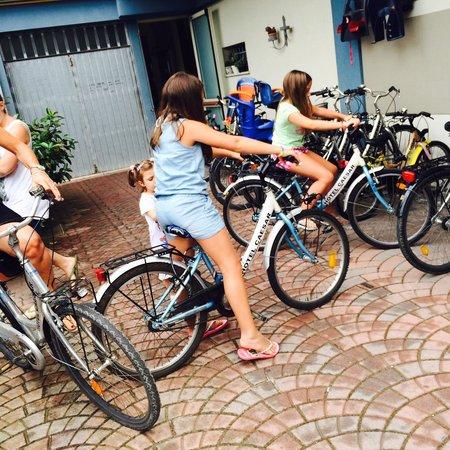 Hotel Caesar: Pronti per il giretto in bici!!