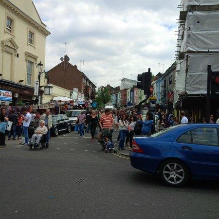 Portobello Road Market: one of the ends