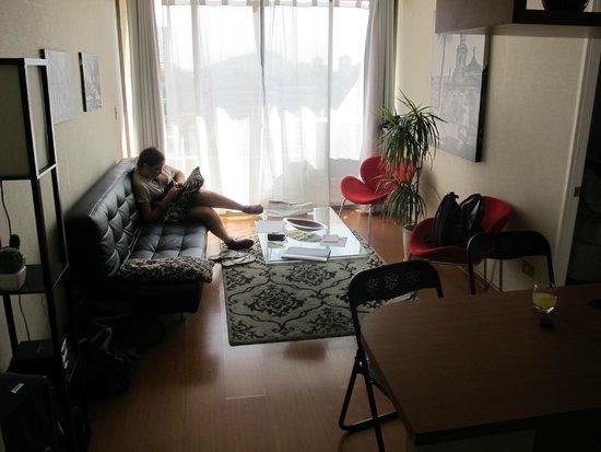 Apart Hotel Inter Suites Santiago Centro