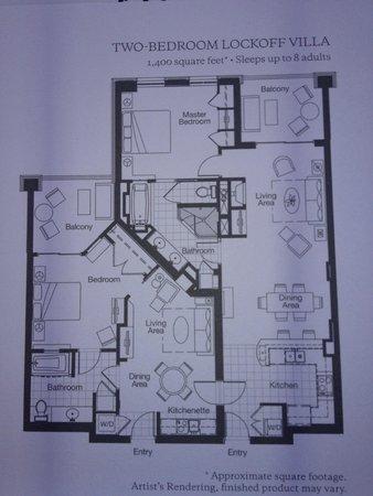Westin Kierland Villas Floor Plan Floor Roma
