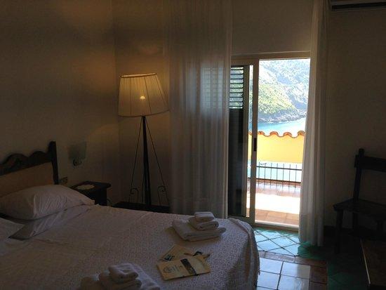 Spettacolo dalla camera picture of hotel spa villa del for Acquafredda salon