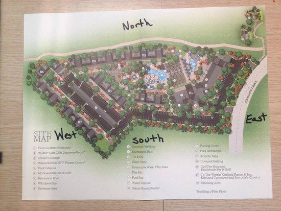Floor Plan Of 2BR Unit: Fotografía De The Westin Kierland