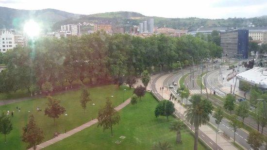 Melia Bilbao: vistas desde mi ventana