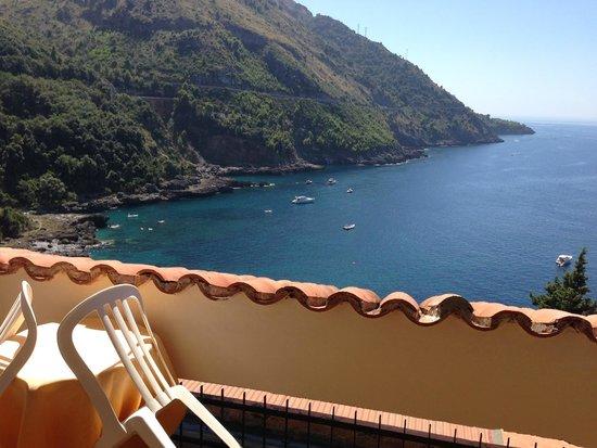 Hotel Spa Villa del Mare: Dal Terrazzino