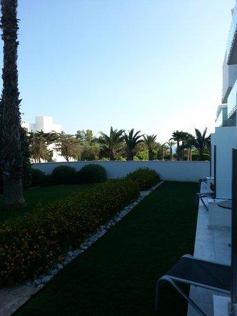 Hipotels Gran Conil & Spa: Terrasse privée de la chambre