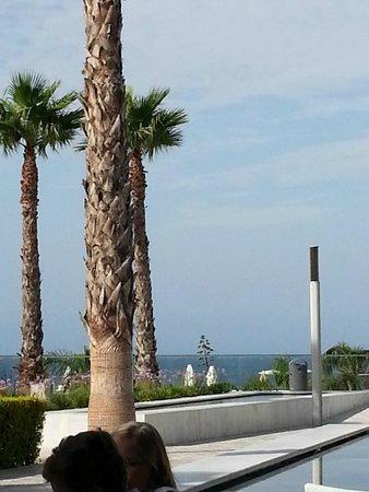 Hipotels Gran Conil & Spa: Vue de la terrasse repas