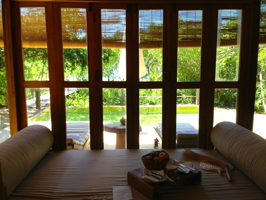Six Senses Ninh Van Bay : vue de la chambre