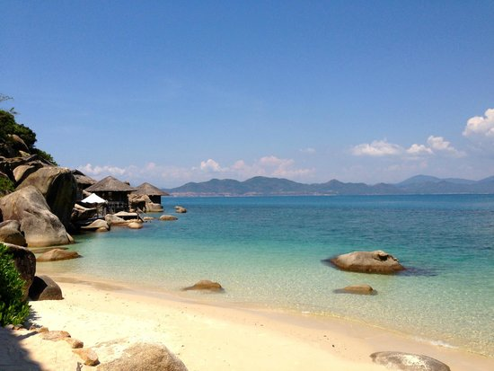 Six Senses Ninh Van Bay: la plage