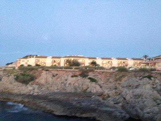 THB Guya Playa: Vorderer Teil der Hotelanlage