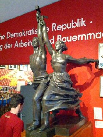 Museum in der Kulturbrauerei: monumenti ai lavoratori