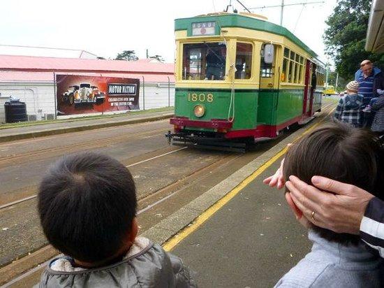 Museum of Transport and Technology: 実際に乗れる路面電車、これはオーストラリアでも使われていた模様