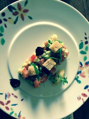 Grand Cru Restaurant and Bar: Salmon Tar Tar