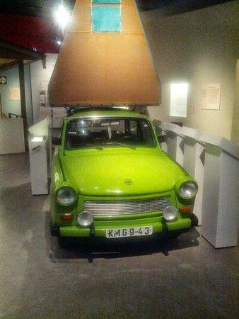 Museum in der Kulturbrauerei: Trabant