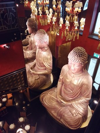 Buddha-Bar Hotel Budapest Klotild Palace: ristorante