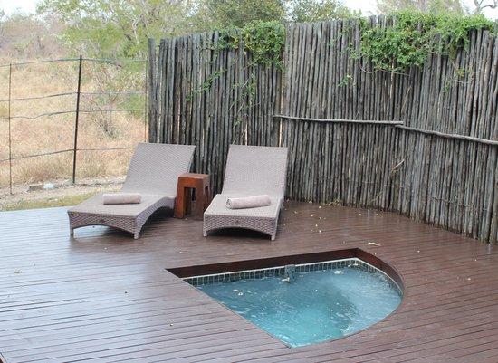 Jock Safari Lodge : Private plunge pool