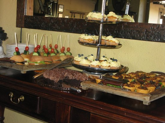 Jock Safari Lodge : High tea