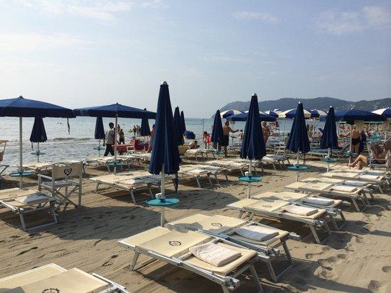 Grand Hotel Spiaggia: la plage