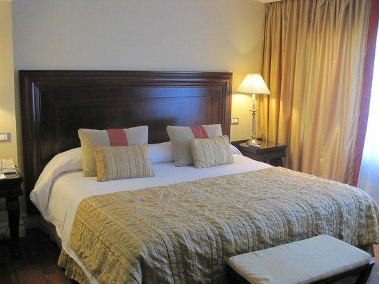 Panamericano Buenos Aires Hotel: Habitación superior con vista a 9 de julio