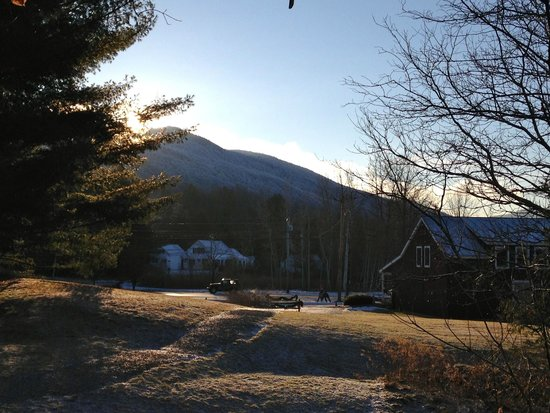Best Western Inn & Suites Rutland-Killington: View from back of hotel