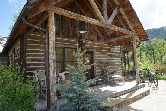 The Ranch at Rock Creek: Lodge entrance