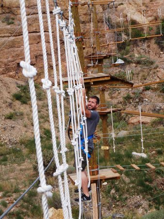 Captain Zipline: All ropes obstacle