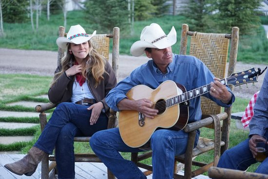 The Ranch at Rock Creek: Campfire guitar solo