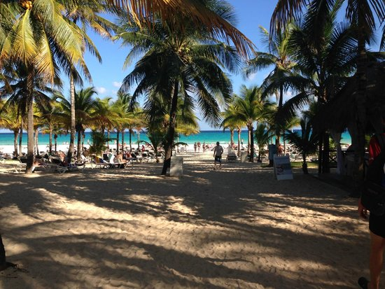 Hotel Riu Playacar : playa