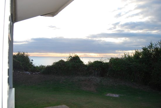 Riviera Bay Holiday Park - Park Holidays UK: View from out chalet door