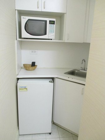 The Milburn Hotel : Kitchenette