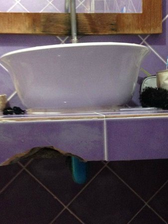 Phi Phi Anita Resort: horrible salle de bain
