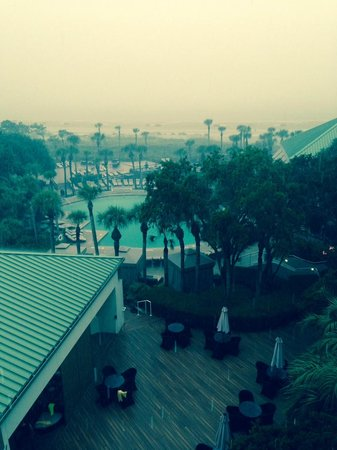 The Westin Hilton Head Island Resort & Spa: Early evening view from our balcony
