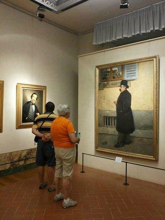 Museo Civico Giovanni Fattori : AVVICINATI, OSSERVA E LEGGI ALLA TUA DESTRA ;))))