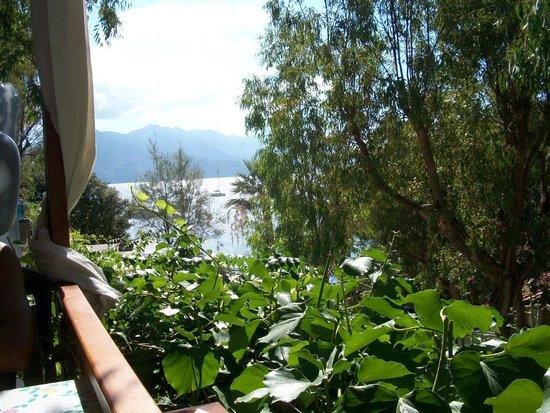 Camping Enfola: vista dal nostro bungalow