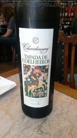 Bar do Binho: That amazing Chardonnay