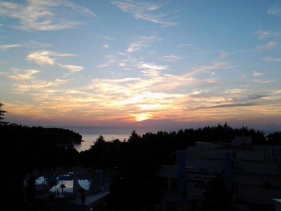 Valamar Diamant Hotel : al tramonto