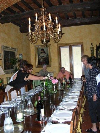 Villa Lucia : The dining room
