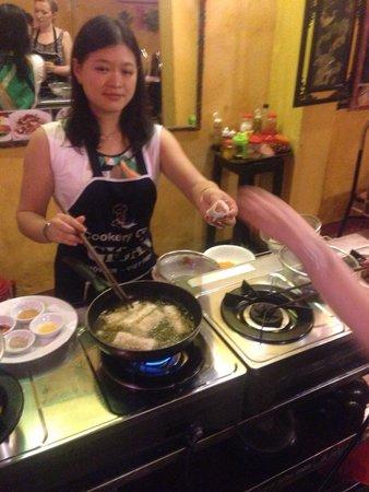 Gioan Cooking Class : Hanh