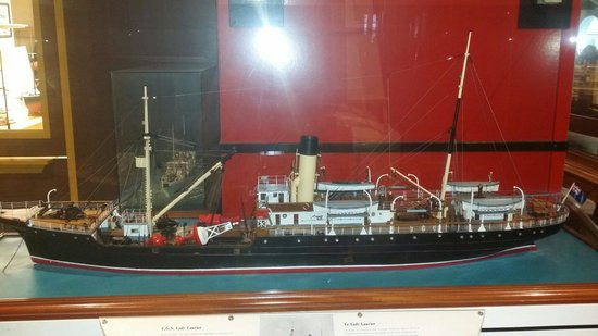 Maritime Museum of the Atlantic : One of the many ship models at the museum.