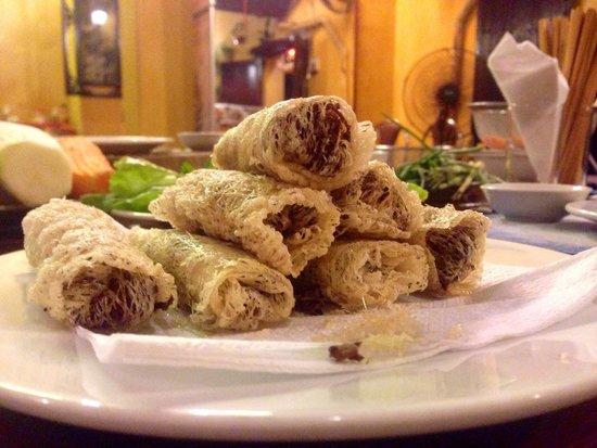 Gioan Cooking Class : Homemade spring rolls