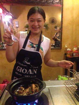Gioan Cooking Class: Hanh