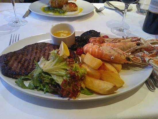 The Pierhouse Hotel: Surf and Turf