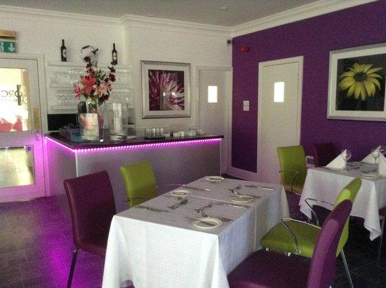 The Clubhouse Hotel: ristorante