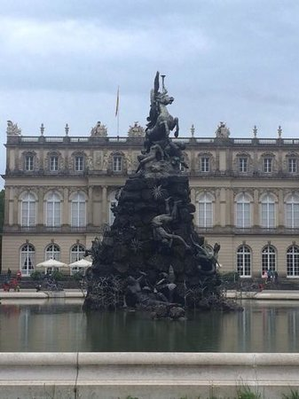 Schloss Herrenchiemsee : fountain