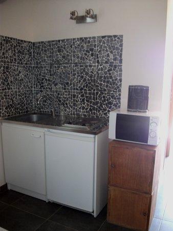 Domaine le Milos: Kitchen