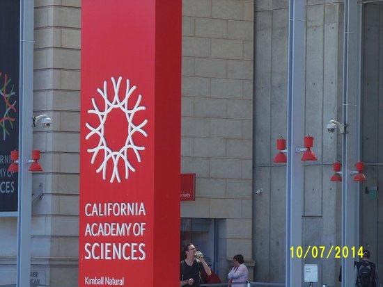 California Academy of Sciences : Entrada