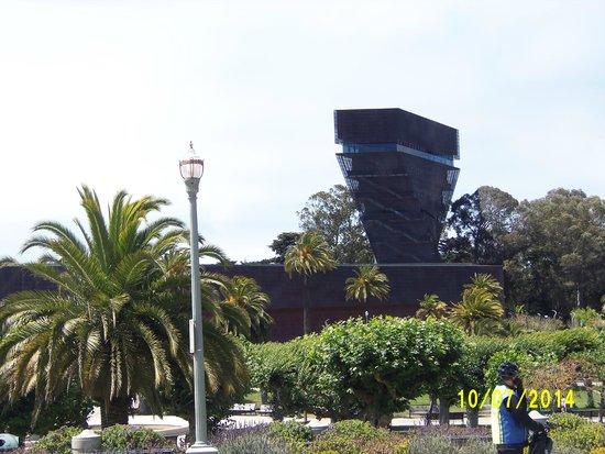 California Academy of Sciences : área do entorno